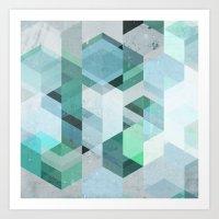 Nordic Combination 22 Art Print