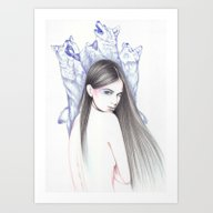 Art Print featuring Moondance by Andrea Hrnjak