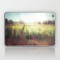 Laptop & iPad Skin featuring Cornfields by The Last Sparrow