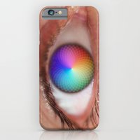 I see all the Colors - Geometric Pantone Eye Vision iPhone 6 Slim Case