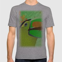Africa Mens Fitted Tee Athletic Grey SMALL