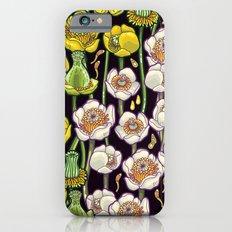 waterlily pattern Slim Case iPhone 6s