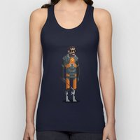 Man With a Crowbar Unisex Tank Top