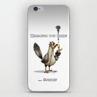Whaddafuq You Want? iPhone & iPod Skin