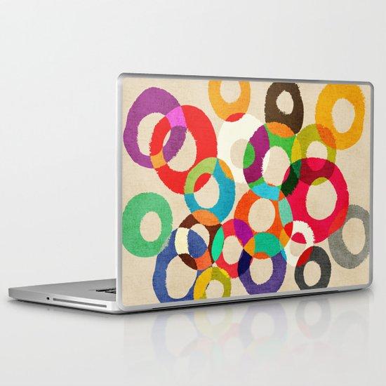 Loop Hoop Laptop & iPad Skin