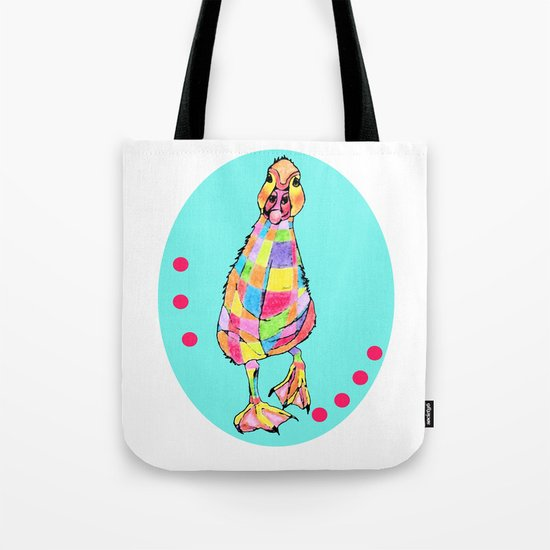 Rainbowduck Tote Bag