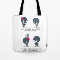 Instant Karma Tote Bag
