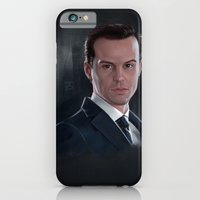 iPhone & iPod Case featuring The Consulting Criminal by RileyStark