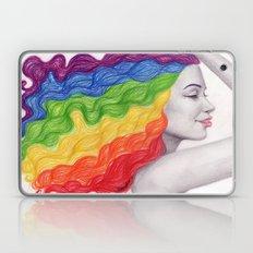 Rainbow Locks Laptop & iPad Skin
