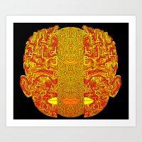 Psychonaut Art Print