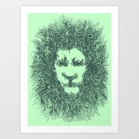 LIONATURE Art Print