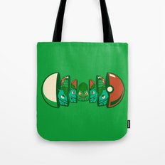 Poketryoshka - Grass Type Tote Bag