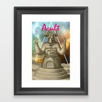 GIMME Framed Art Print