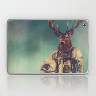 Laptop & iPad Skin featuring Without Words by Rubbishmonkey