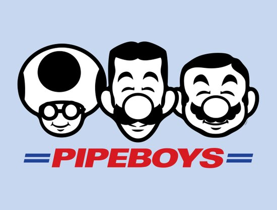 Pipe Boys Art Print