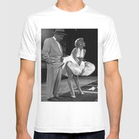 Some Like It Hot Mens Fitted Tee White SMALL