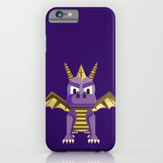 Spyro vector character fanart iPhone 6 Slim Case
