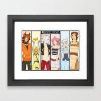 Tropic Mews Poster Framed Art Print