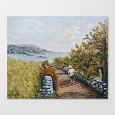 Gower Gold Canvas Print