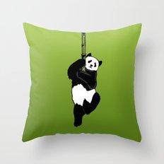 Save the Panda Throw Pillow