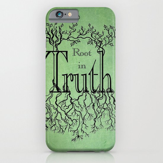 Root in Truth iPhone & iPod Case