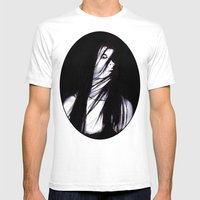 JU-ON Mens Fitted Tee White SMALL