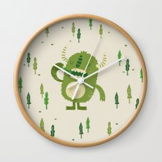the tree muncher Wall Clock