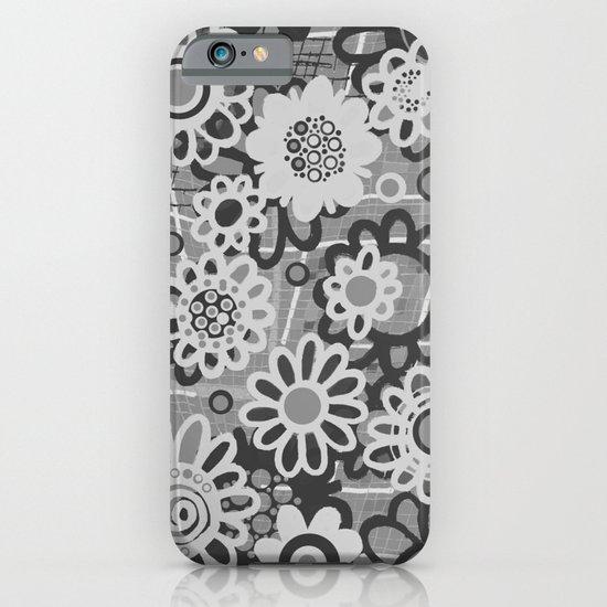 flower doodles v2 iPhone & iPod Case