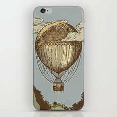 Around the world the incredible Steamballoon iPhone & iPod Skin