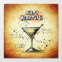 Dirty Martini Canvas Print