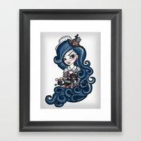The Cat Mistress Framed Art Print