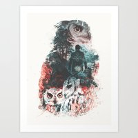 Not What They Seem Inspi… Art Print