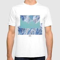 Falling. Mens Fitted Tee White SMALL