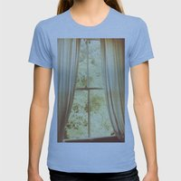 Was It A Dream Womens Fitted Tee Athletic Blue SMALL