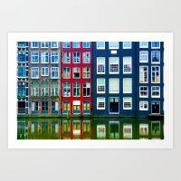 Amsterdam 26 Art Print