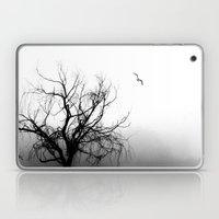 Tree in Fog Laptop & iPad Skin