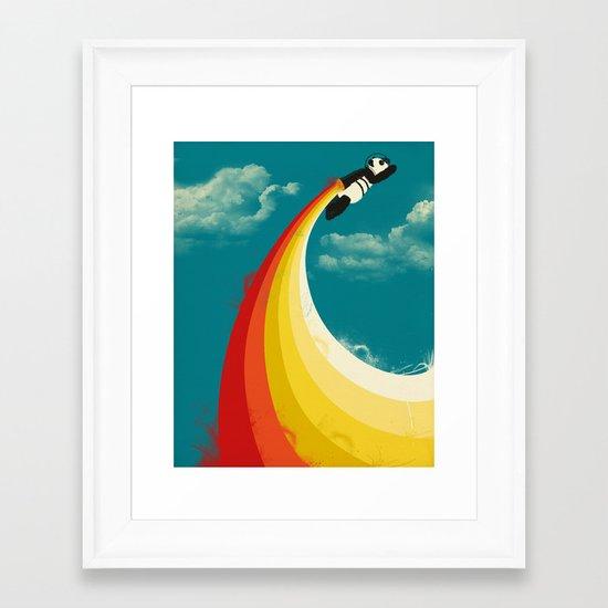 Panda Express Framed Art Print