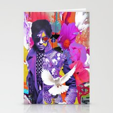 doves cry Stationery Cards