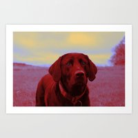 Clifford Art Print