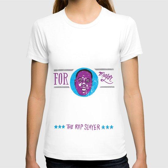 Biggie Smalls for Mayor v.2 T-shirt
