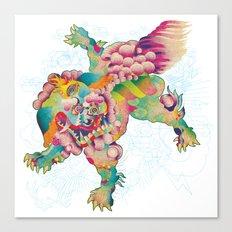 Shiisa - The Lion Canvas Print