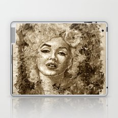 blonde bombshell - sepia version Laptop & iPad Skin