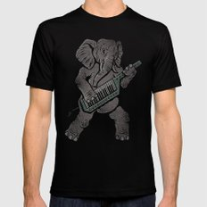 Trunk Rock Mens Fitted Tee Black SMALL