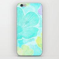 Happy Flower iPhone & iPod Skin
