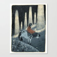 Atreyu Canvas Print