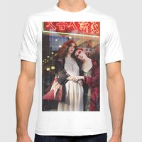 Disorient Mens Fitted Tee White SMALL