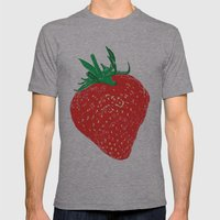 Strawberry, 2013. Mens Fitted Tee Athletic Grey SMALL