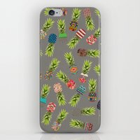 Crazy Pineapple Party iPhone & iPod Skin