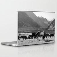 horses Laptop & iPad Skins featuring Horses by Avigur