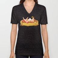 Waffle Girl Unisex V-Neck